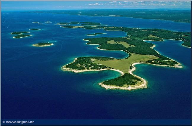 archipel iles brijuni istrie croatie