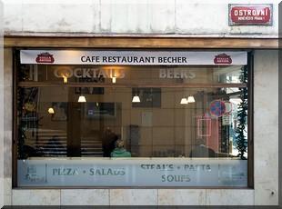cafe restaurant becher prague