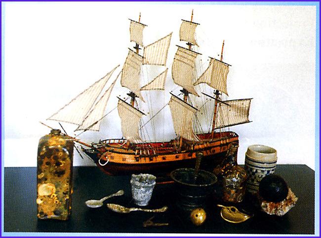 carantec musee maritime corsaire alcide