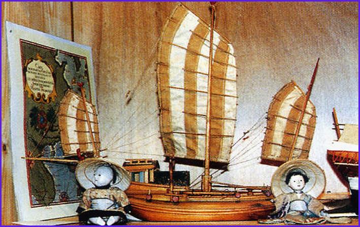 carantec musee maritime maquette