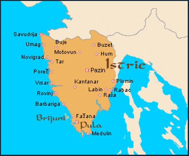 Carte de Croatie : régions, reliefs, sites à ne pas manquer, routes