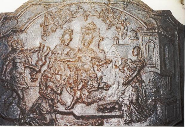 fondation de la cathédrale par l'empereur Salonin