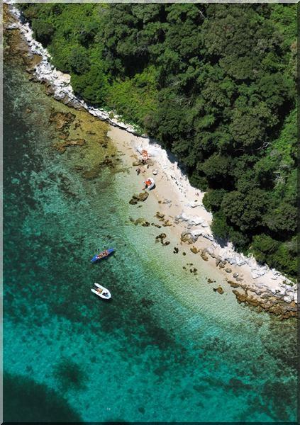 funtana crique plage croatie