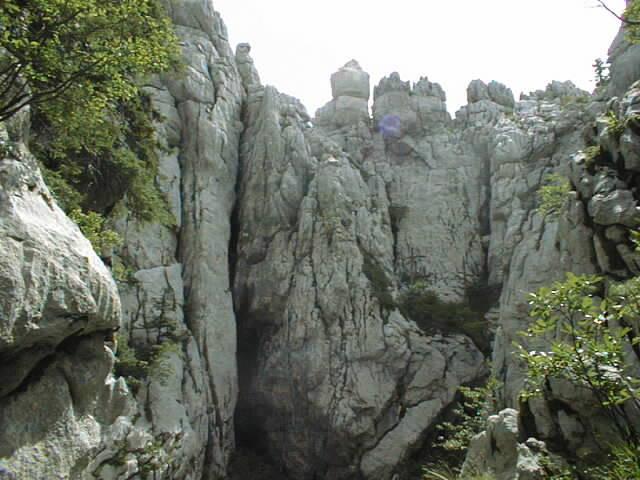 gorski kotar montagnes karstiques