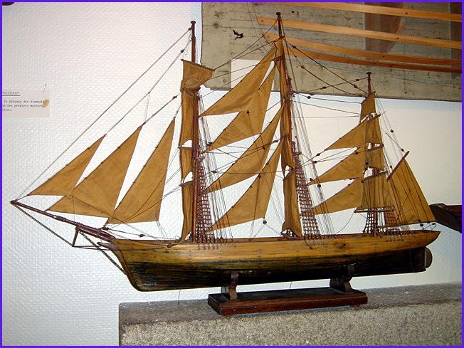 musee maritime carantec navire