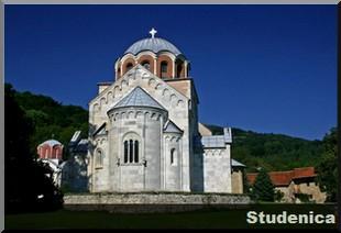 studenica monastere serbie