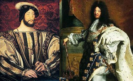Francois 1er louis 14