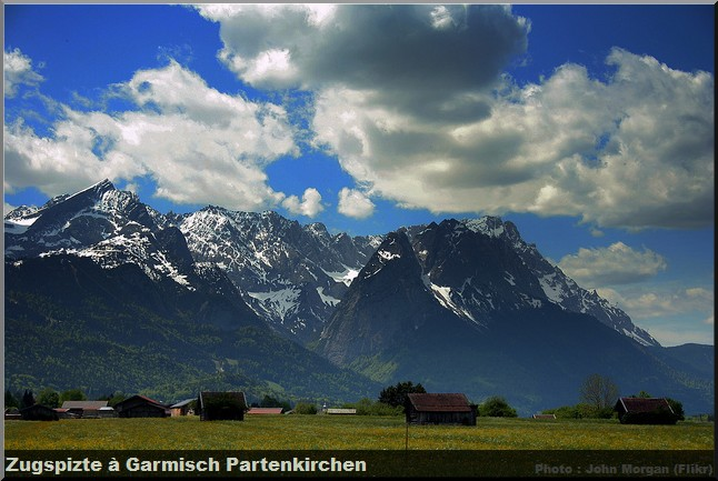 alpes bavaroises zugspiste garmish partenkirchen