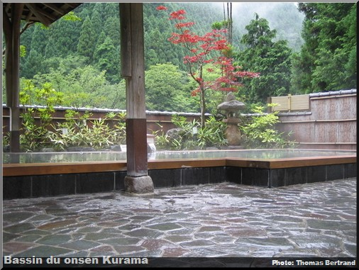 bassin onsen kurama