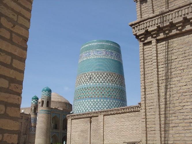 boukhara mosaiques