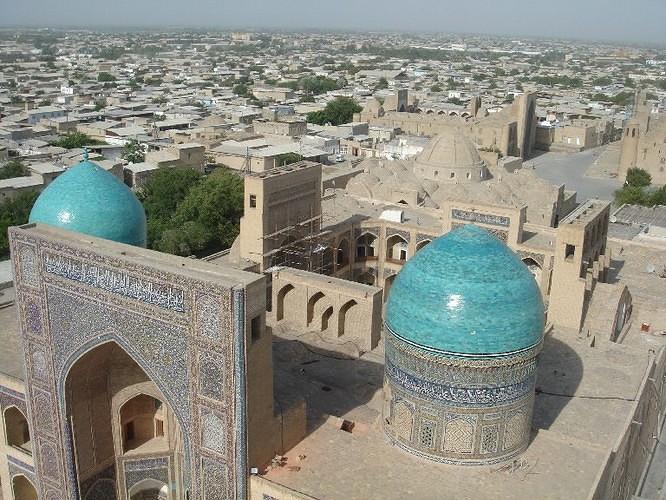 boukhara ouzbekistan mosquee