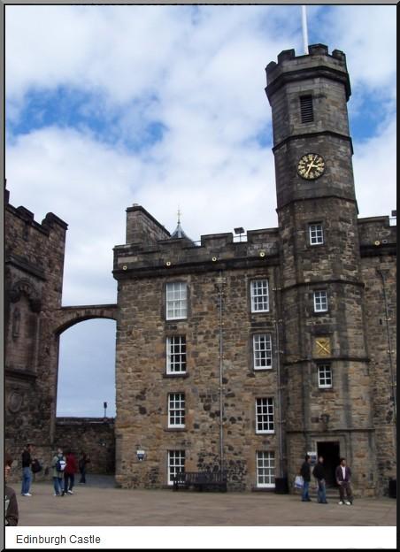 chateau edinburgh castle