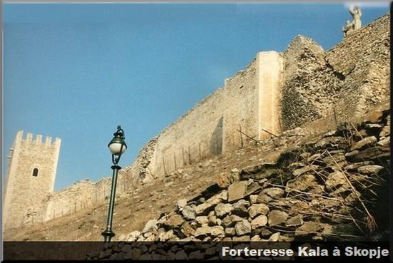 forteresse kala skopje