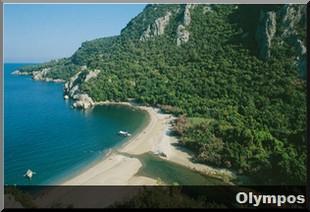 olympos PLAGE