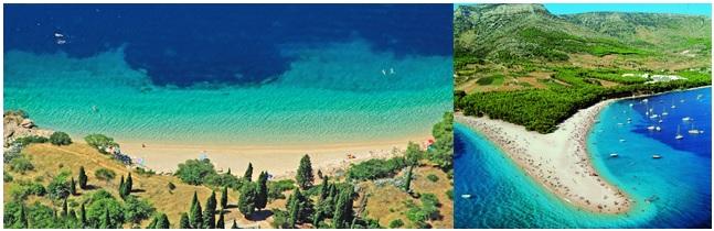 plages croatie