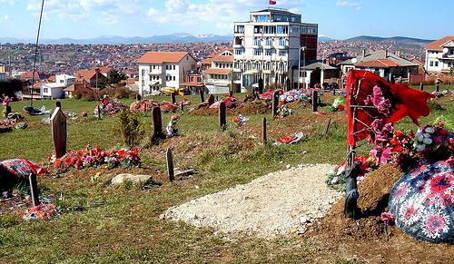 prishtina colline des martyrs