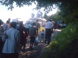 procession hram roumanie