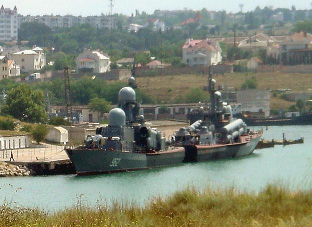 sebastopol bateaux base navale crimee