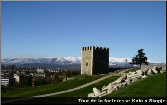 tour forteresse kala skopje