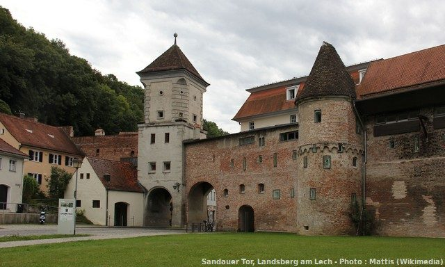 Sandauer Tor, Landsberg am Lech, Germany