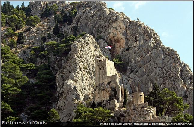 Omiš - Forteresse de Stari Grad