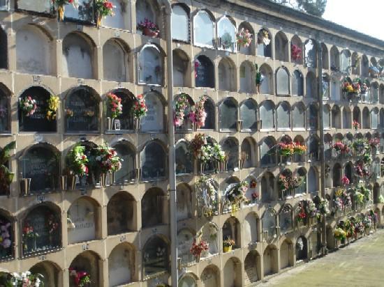cimetiere poble nou tombes