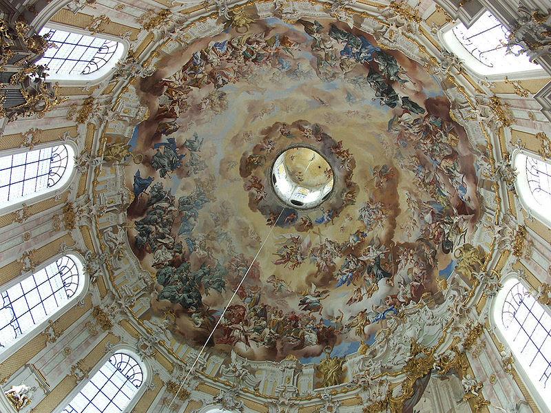 ettal abbaye interieur