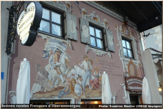 Oberammergau, un beau village typique aux façades peintes en Bavière 3