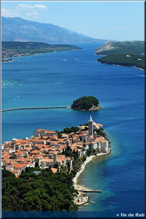 ile de rab croatie tourisme