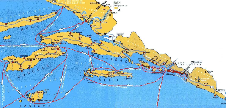 liaisons ferries dubrovnik