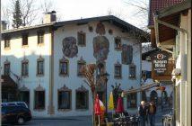 oberammergau maison peinte