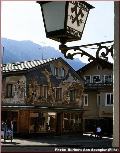oberammergau maison scene passion
