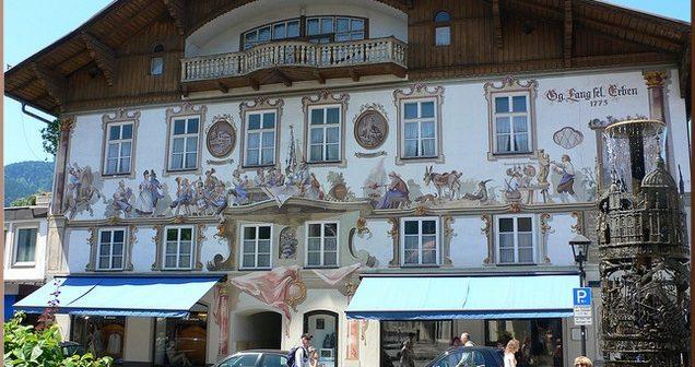 oberammergau village de baviere