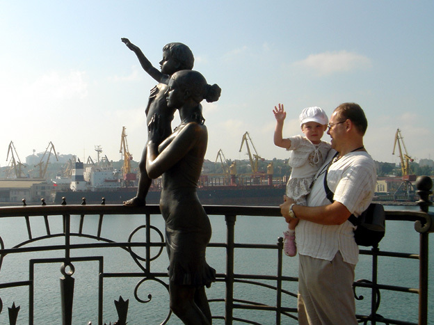 odessa statue port