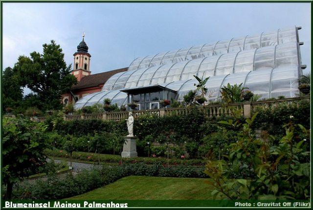 Blumeninsel Mainau Palmenhaus bodensee