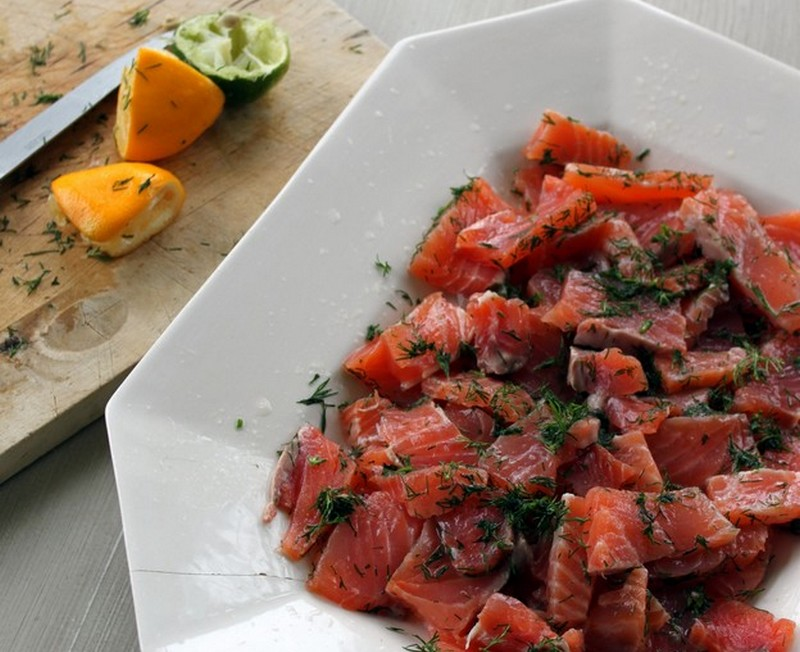 recette saumon gravlax la su doise cuisine scandinave. Black Bedroom Furniture Sets. Home Design Ideas