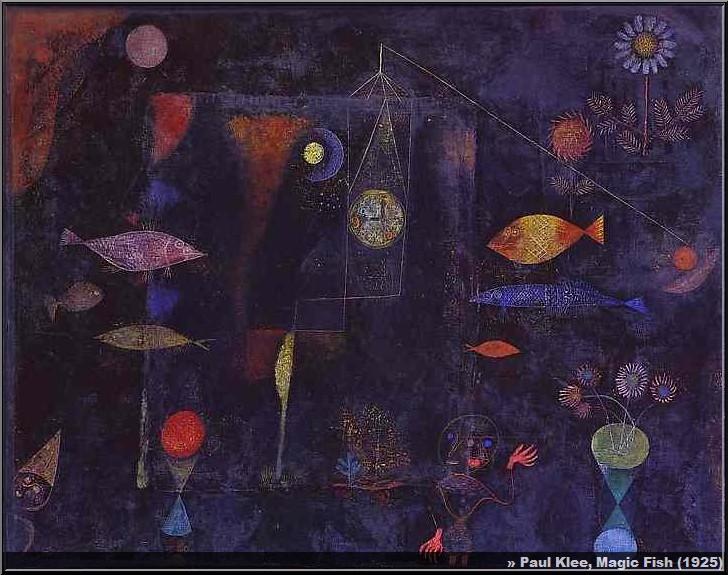 paul klee Fish Magic 1925
