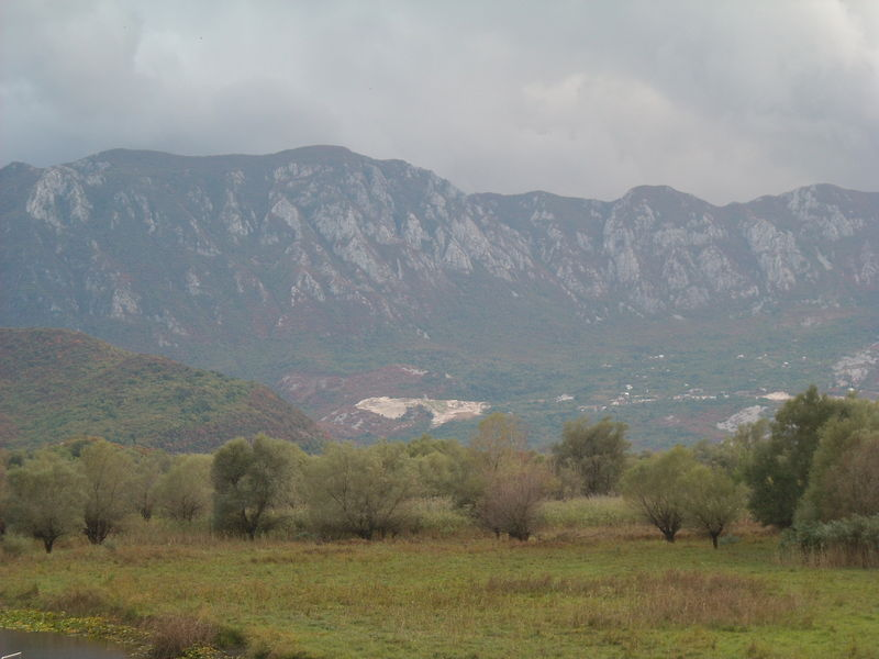 virpazar montagnes montenegro