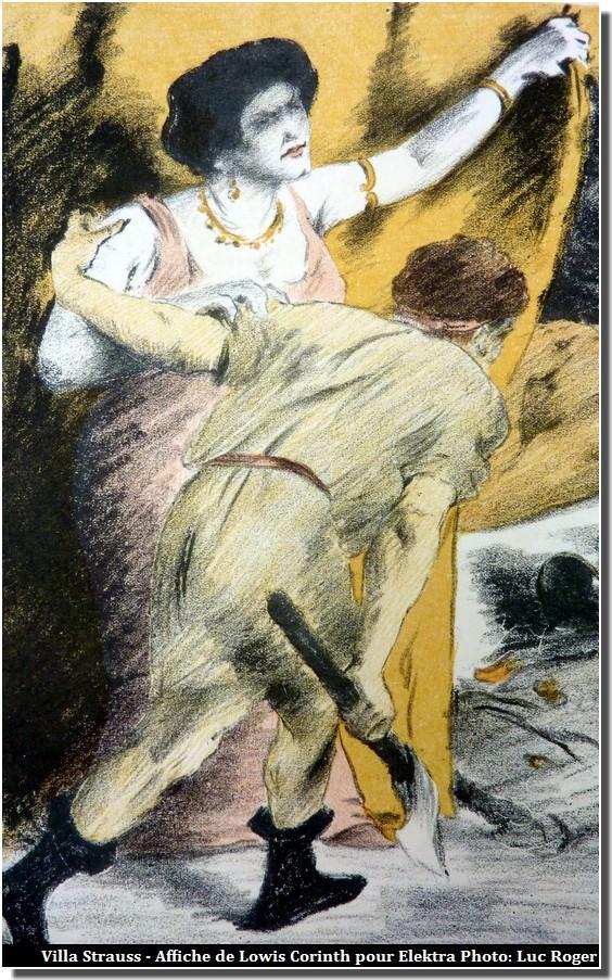 Affiche de Lowis Corinth pour Elektra