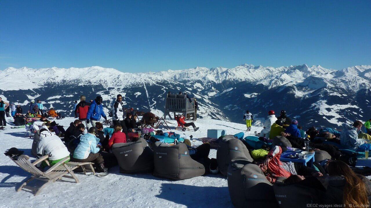 Au sommet du Zillertal au Tyrol