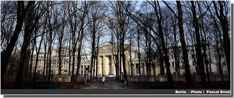 Berlin Brandebourg parc