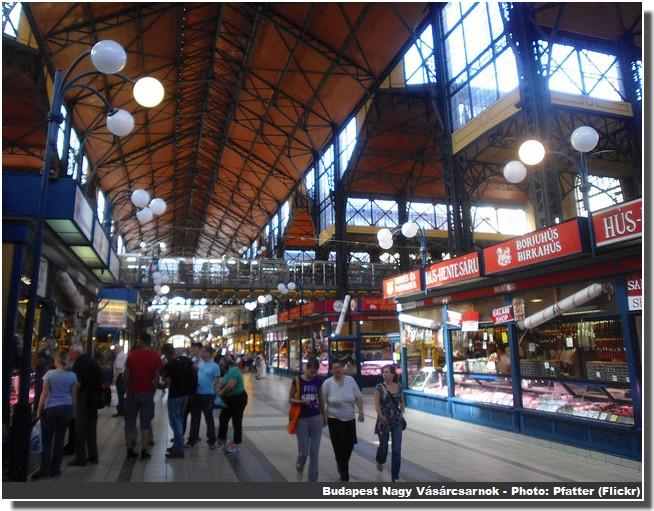 Budapest marché central Nagy Vásárcsarnok