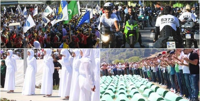 Célébration massacres de srebrenica