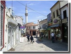Carsija rue de Skopje