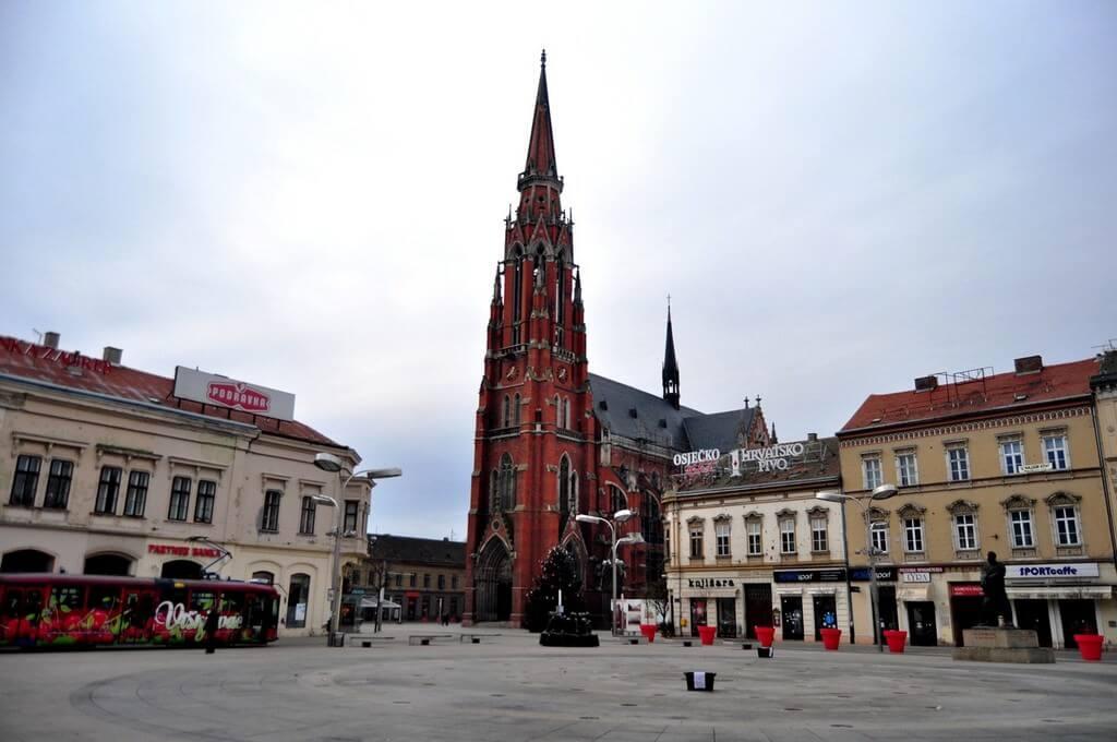 Cathédrale d'Osijek