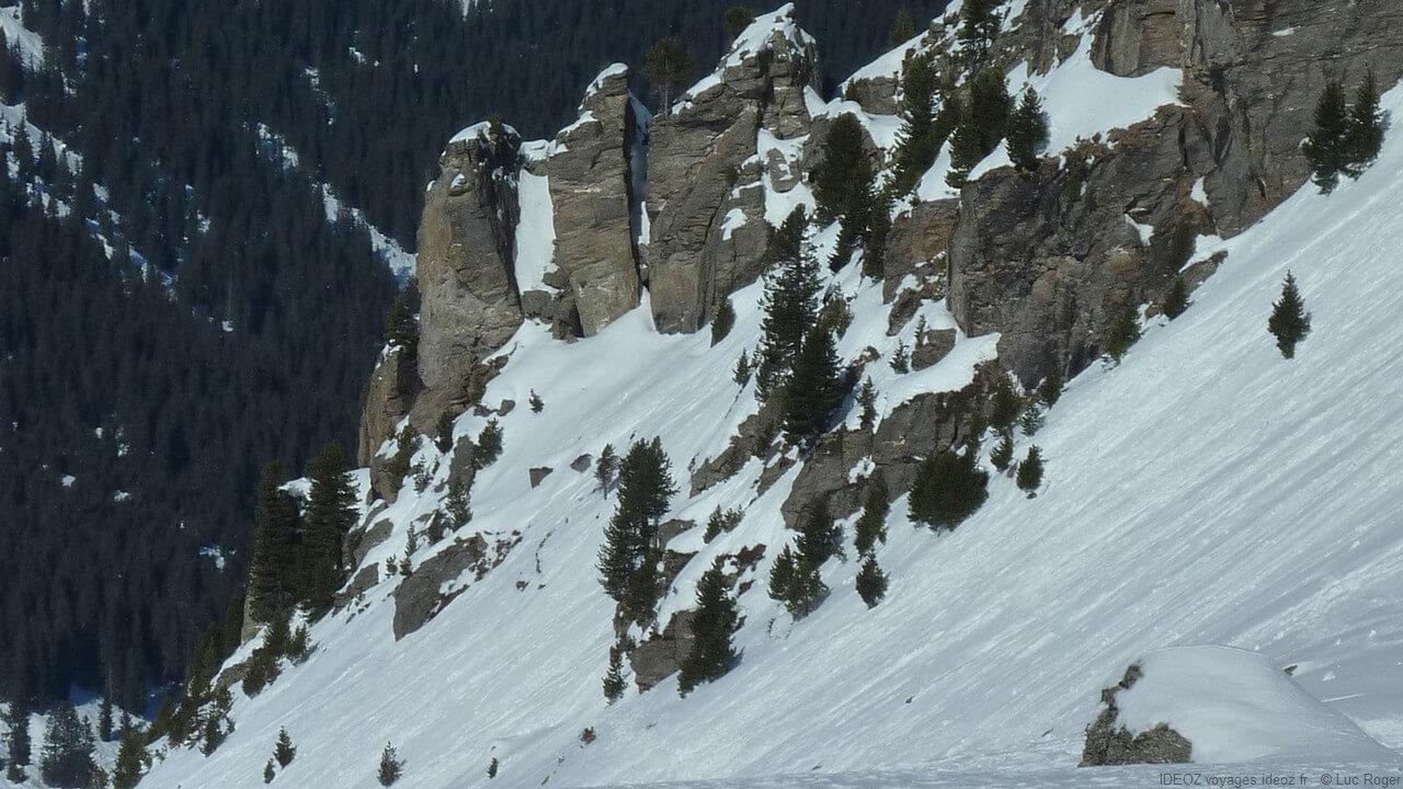 Cimes de Zillertal au Tyrol autrichien