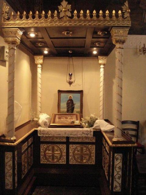Eglise Ruzica à Belgrade intérieur
