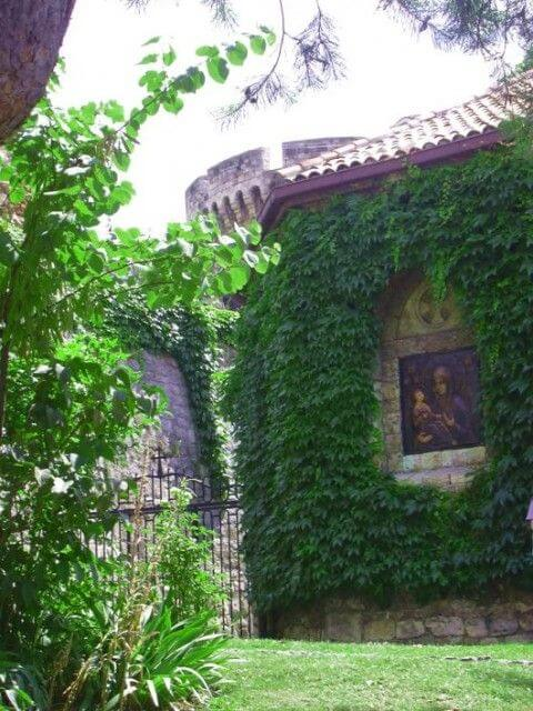 Eglise Ruzica bronze de Marie et Jésus