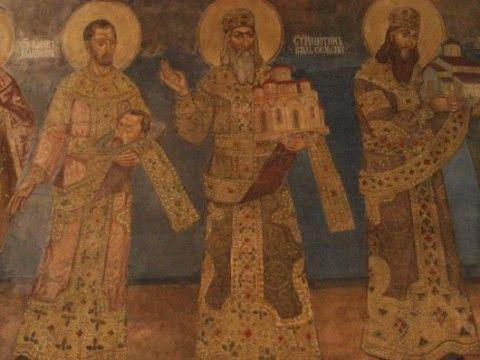 Eglise Ruzica fresques