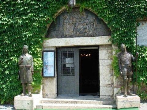 Entrée de l'église Ruzica belgrade